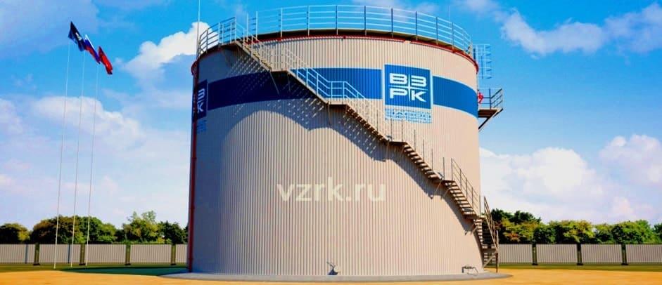 изготовление вертикальных резервуаров